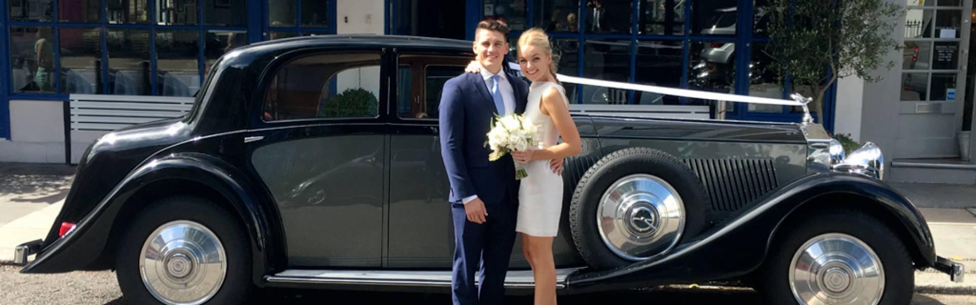 Stylish And Elegant Wedding Cars